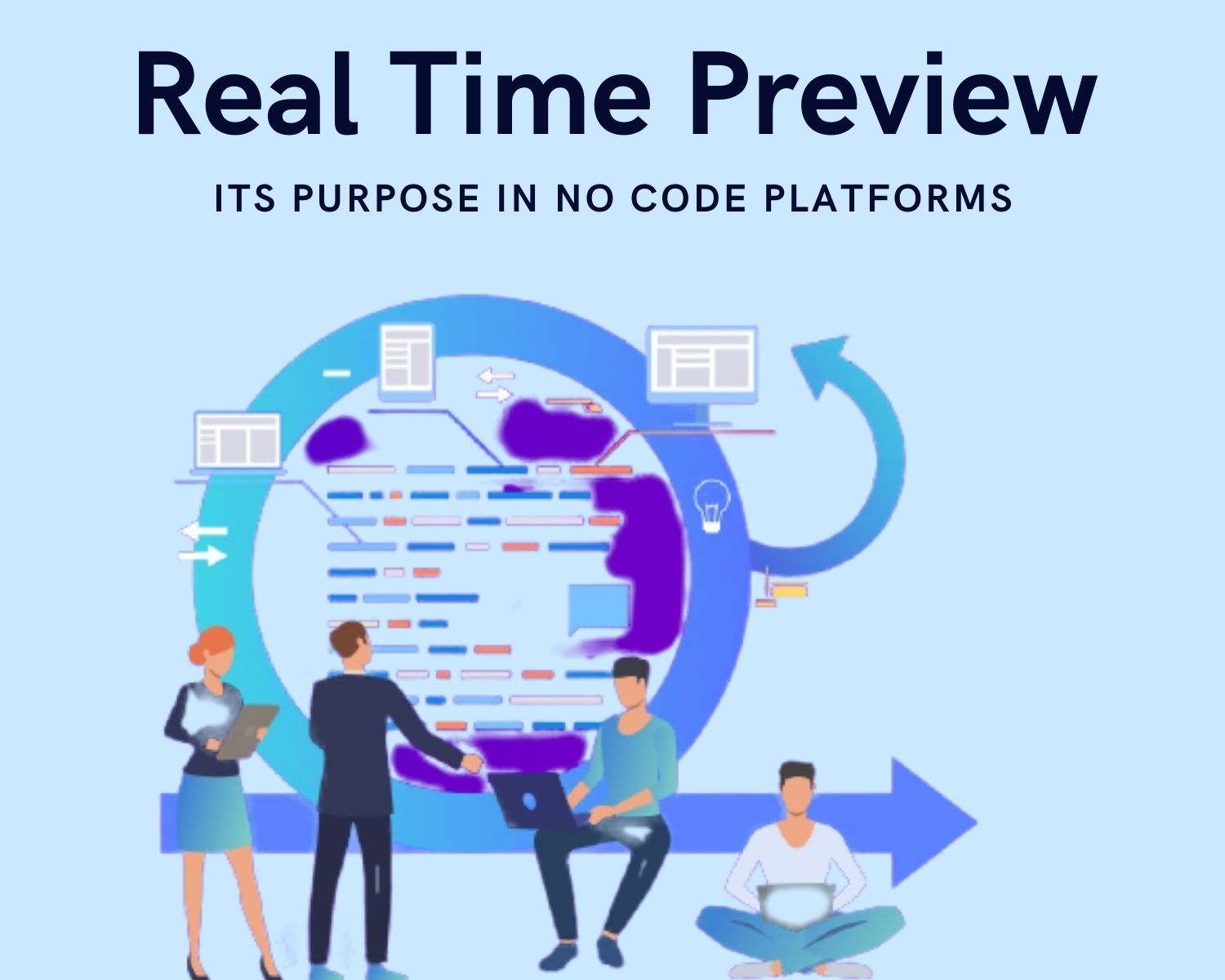 Real Time Preview in no code